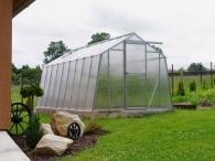 Limes Prodloužení skleníku H 6-X - sklo HELIOS 4mm