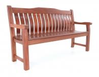 Dřevěná zahradní lavice MERANTI RODOS