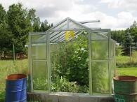 LIMES VARIANT J 4 pozinkovaný skleník, prosklení - sklo HELIOS
