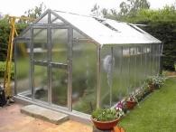 Limes Prodloužení skleníku J-X - sklo HELIOS 4mm