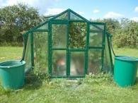 Limes Lakovaný skleník PRIMUS K 4,5 - sklo HELIOS 4mm