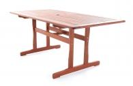 Dřevěný zahradní stůl MERANTI RODOS/VICTORIA