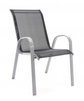 BAZAR - Kovová židle PATRICIA