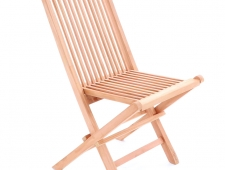 Dřevěná skládací sestava TEAK CLASIC SET 4 + luxusní sedáky ZDARMA